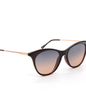 Black and rose gold sunglasses