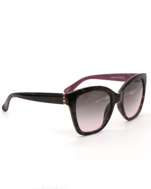 Black and burgandy sunglasses