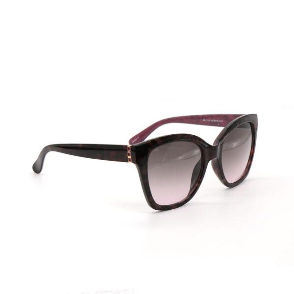 Black and burgandy sunglasses