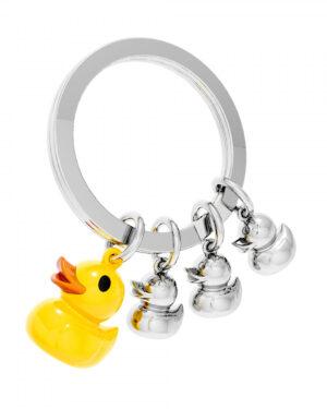 Yellow duck keyring