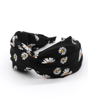 black daisy headband