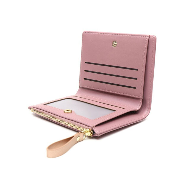 dusky pink and rose gold star purse